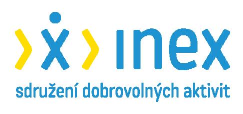 INEX logo horizontal barva